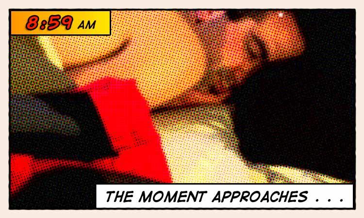 8:59 - Sleeping